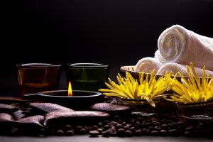 Oil and towels for Idaho Falls massage