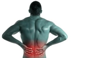 Man with low back pain needing a chiropractor near me